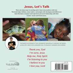 """Jesus, Let's Talk"" Back Cover"