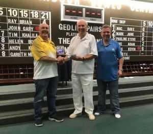 Semi-finalist Billy Alan and Glen Livingston