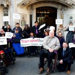 Wheelchair Fight Round Spinning Sofa Chair We Must Keep Banging The Drum Says Bus Campaigner After Five Year For Justice