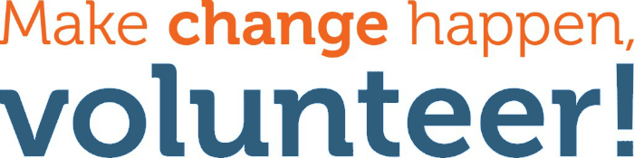 Make change happen, Volunteer