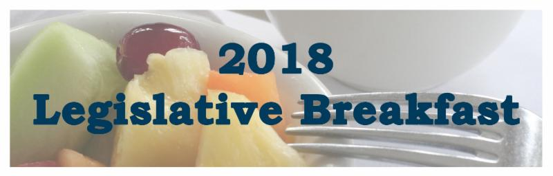 2018 Legislative Breakfast
