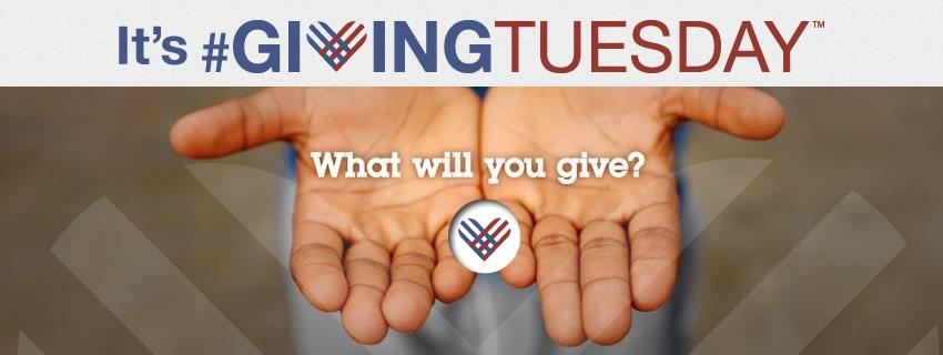 giving tuesday what will you give with hands reaching out