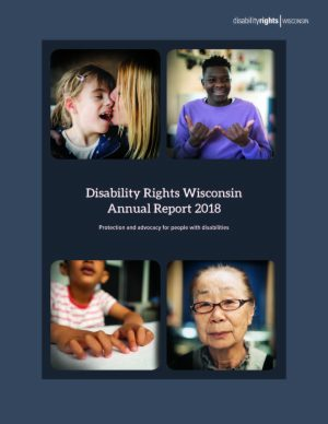 Front cover of 2018 Annual Report
