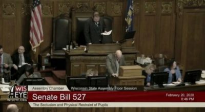 WIsconsinEye passing of senate bill 527