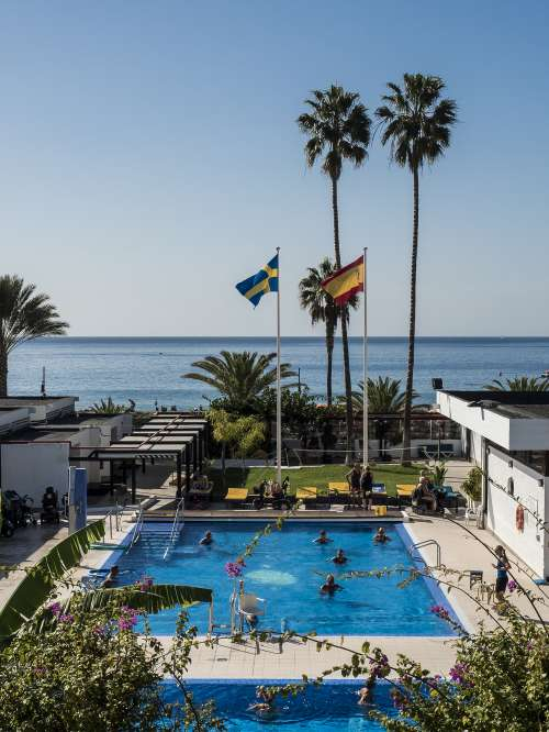 Disabled Holiday and Accessible Accommodation with Hoists in the Vintersol Tenerife Los