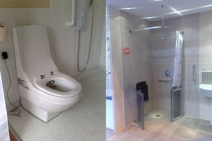 Disabled Design Bathing Facilities