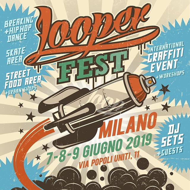 Locandina Looperfest 2019 Milano