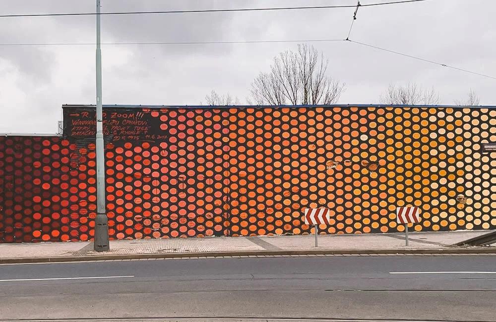 Street art a praga - Un wall di Jan Kalab per le strade di Holesovice