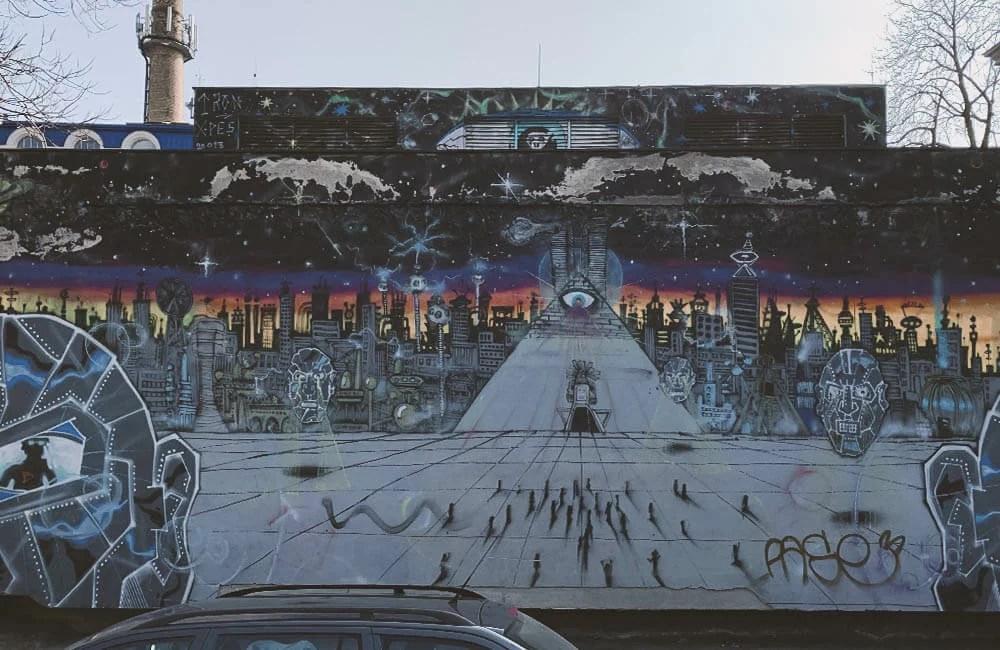 Street Art a Praga - Smichov