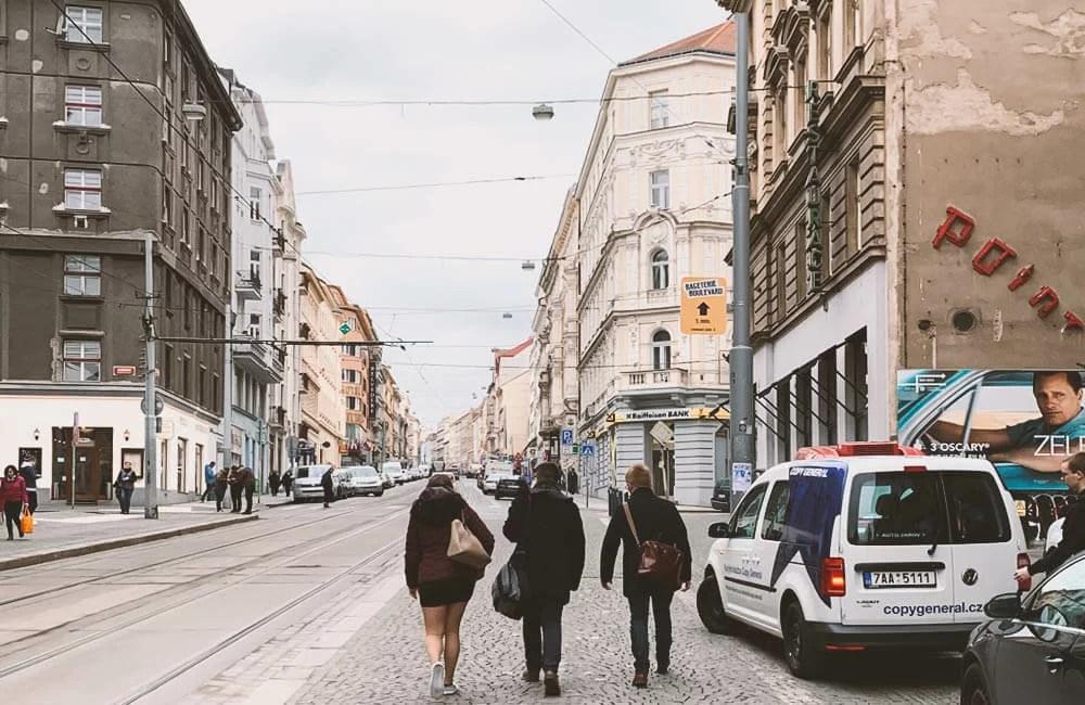 Letnà, Praga 7 - Camminando per le via della città