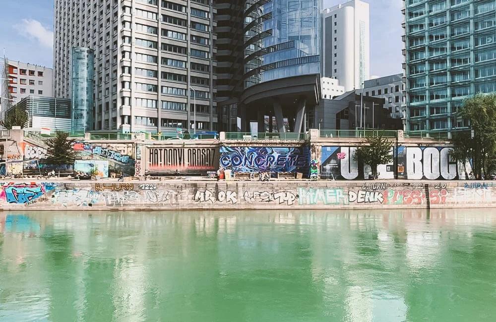 Vienna Donaukanal - Una delle hall of fame più grandi al mondo