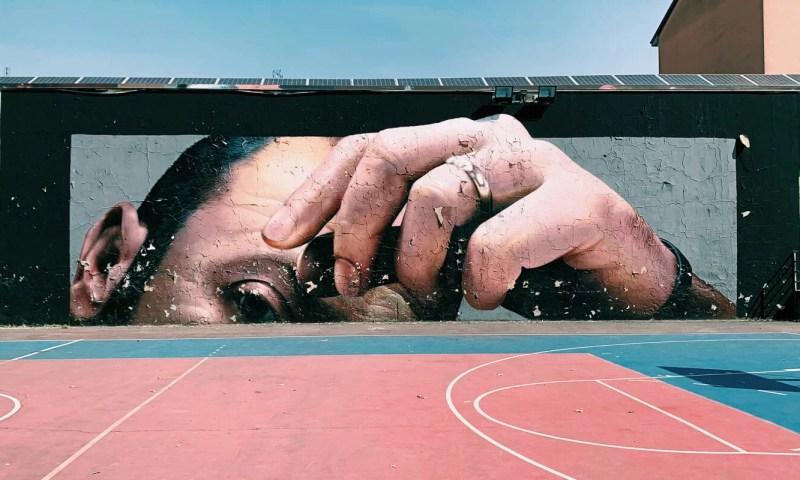 Copertina Street Art a Nerviano