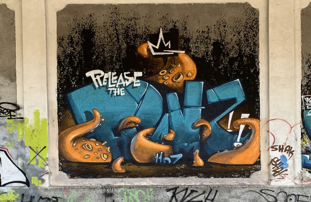 Nervi a Pezzi 2017 Nerviano Street Art