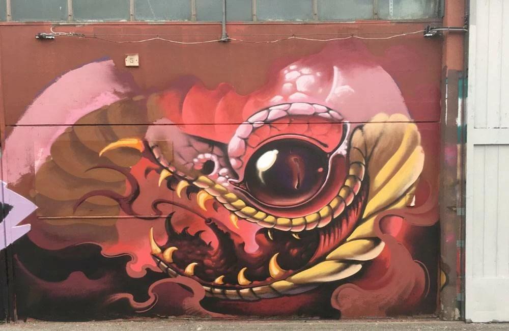 Street art - Trezzano Sul Naviglio