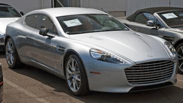 Aston Martin Rapid-E on Display