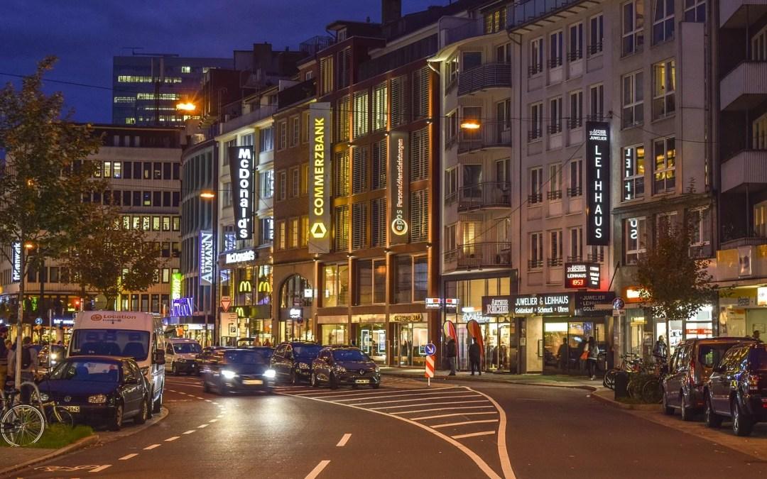 pubblica illuminazione città