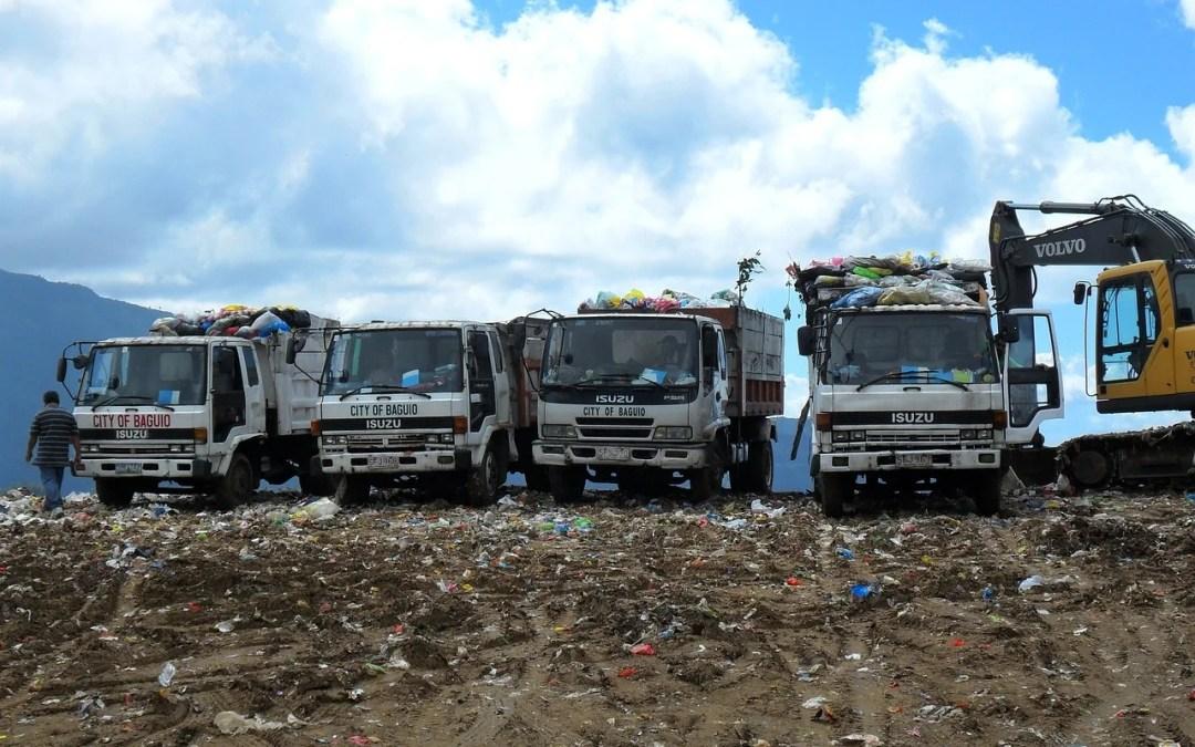 discarica raccolta rifiuti