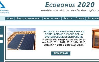 Superbonus 110%: invio asseverazioni ad Enea entro il 90 giorni dal fine lavori o dallo stato di avanzamento