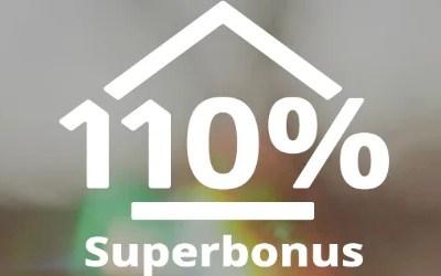 Delucidazioni sul superbonus110%