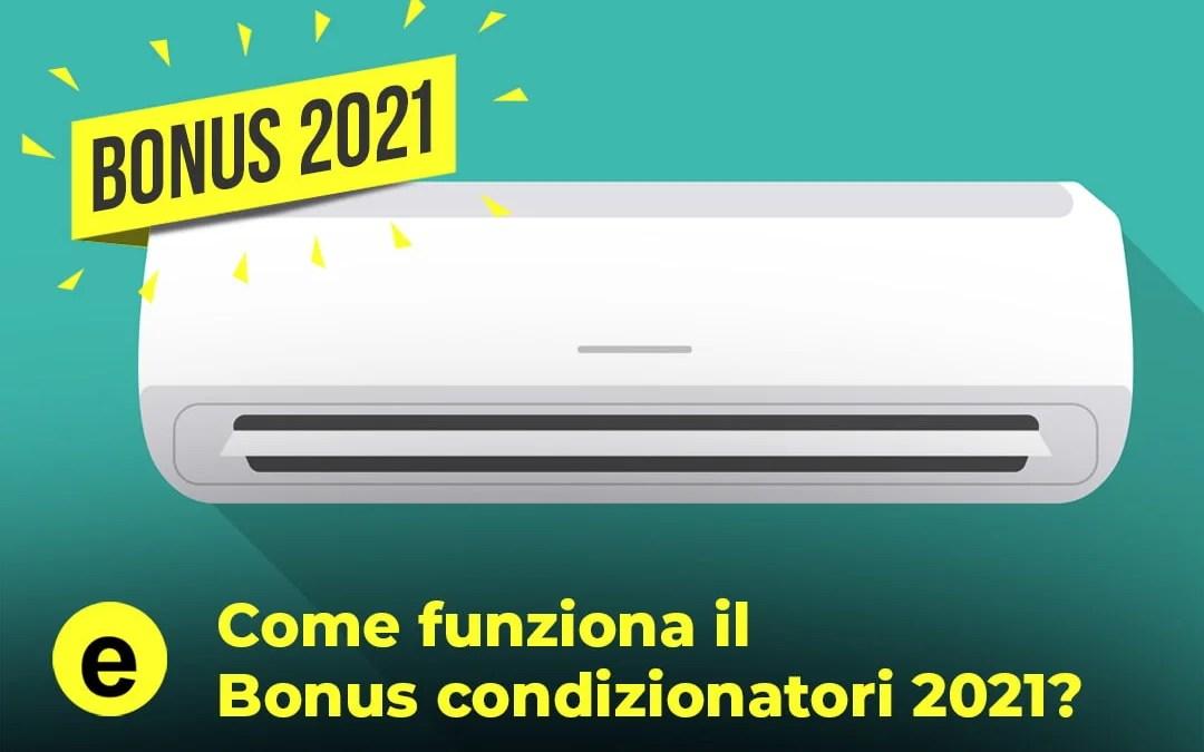 Bonus condizionatori 2021: detrazione o sconto subito