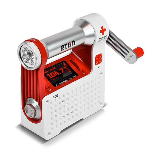 Eton AXIS American Red Cross Radio LED Flashlight