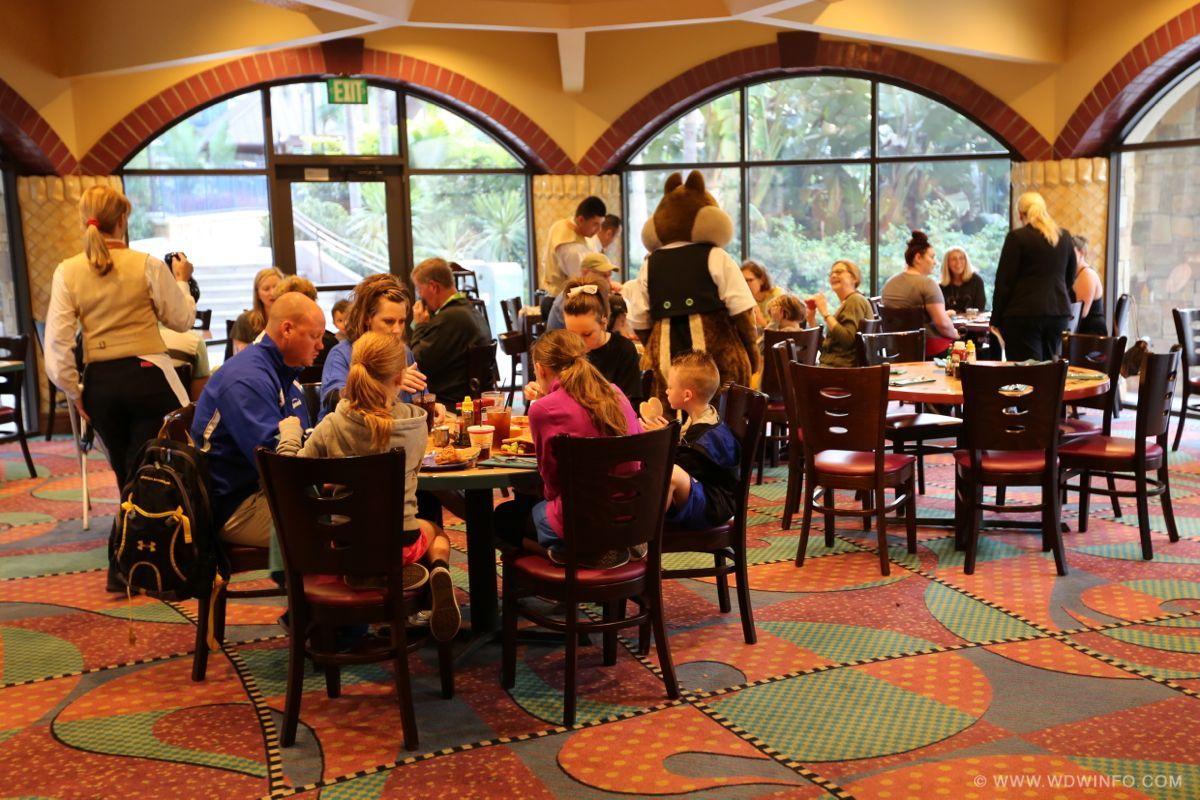 Disneyland Hotel Goofy's Kitchen Dinner