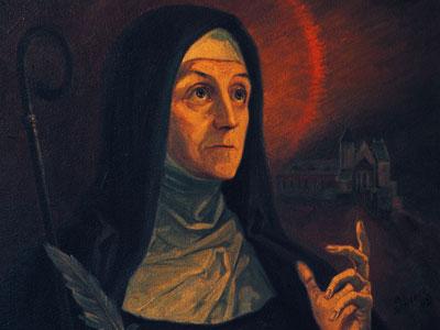 St. Hildegard of Bingen