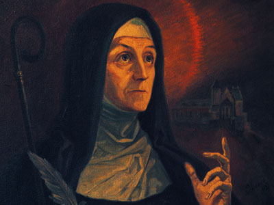 St. Hildegard of Bingen Dr. Matthew Bunson Discerning Hearts Podcast