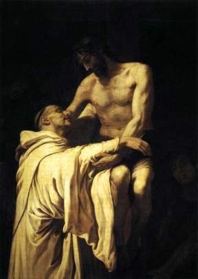 St.-Bernard-with-Christ