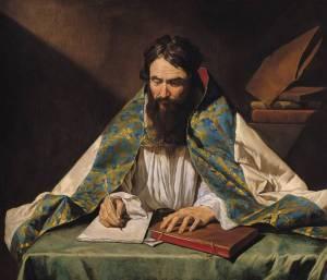 St-Ambrose--c-oil-on-canvas_art