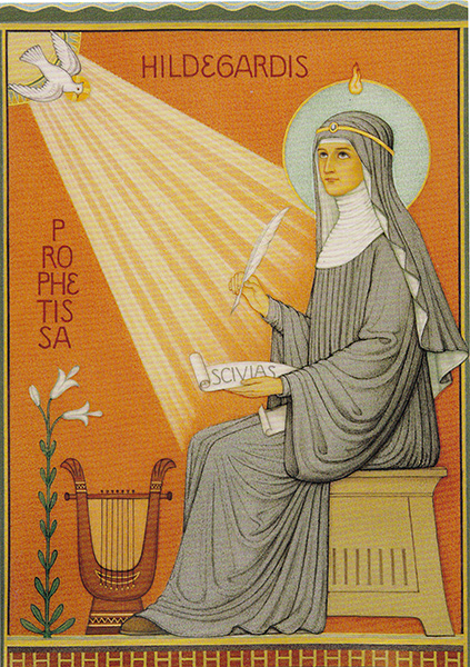 Novena to St  Hildegard of Bingen - Mp3 audio and Text