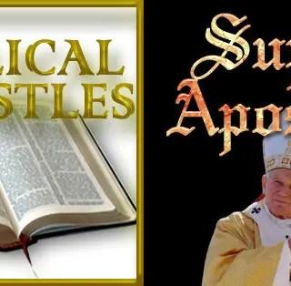 Apostles versus Super Apostles