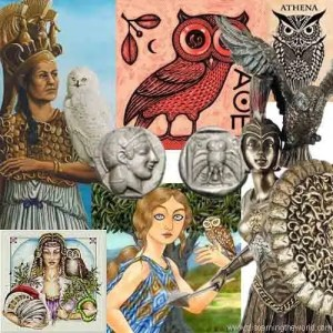 Athena Owl Goddess of Wisdom
