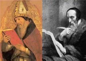 St Augustine and John Calvin