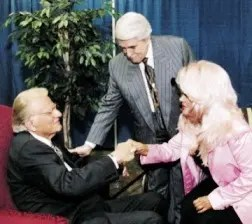 BillyGraham With Paul and Jan Crouch