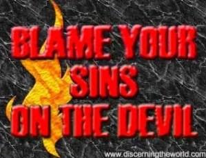 Blame your sins on the devil - God TV