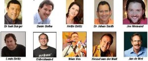 Other speakers at The Feast of the Tabernacles  -