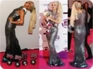 Gaga Snake Dress