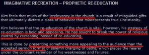 Kim Clement website - The Prophet