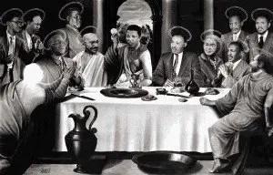 Nelson Mandela - Last Supper
