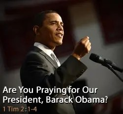 The Elijah List - I Want to Pray for the President!