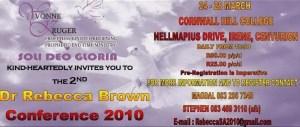 RebeccaBrown-SAConference2010