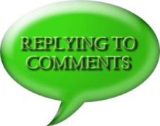 Replying to comments