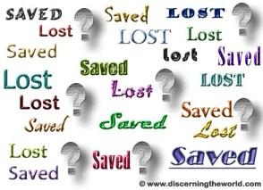 Saved Lost - eternal security