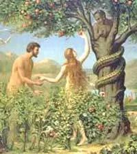 Serpent in the Garden of Eden - yoga