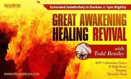 Todd Bentley -Great Awakening Healing Revival