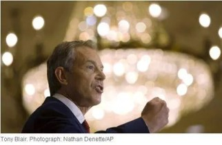 Tony Blair Unite Faiths