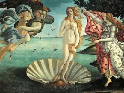 Venus in Scallop - pagan