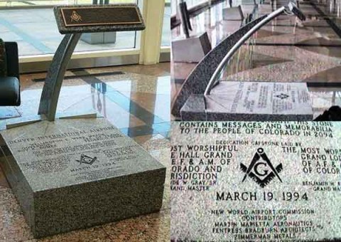 Free Mason Capstone New World Order Airport
