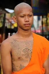 tattoos sakyant-Buddism